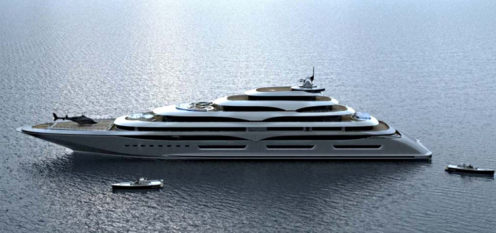 Extreme Luxury Privilege Giga Yacht - Project Privilege P430