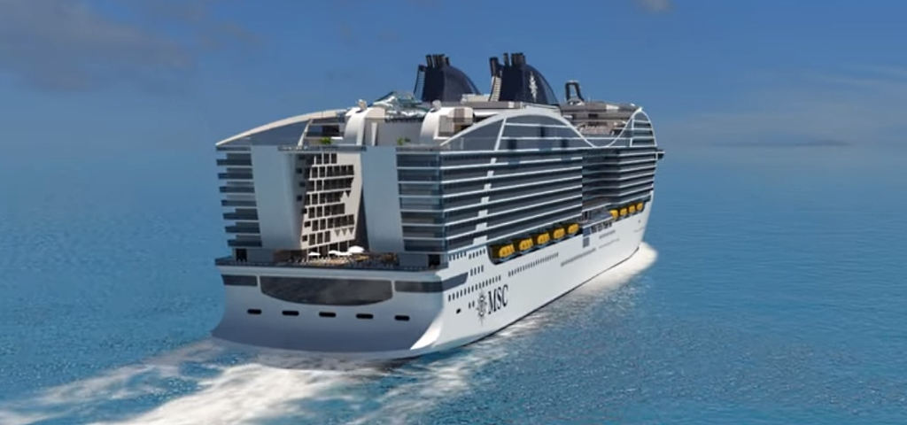 Msc World Class Navi Msc Crociere La Nave