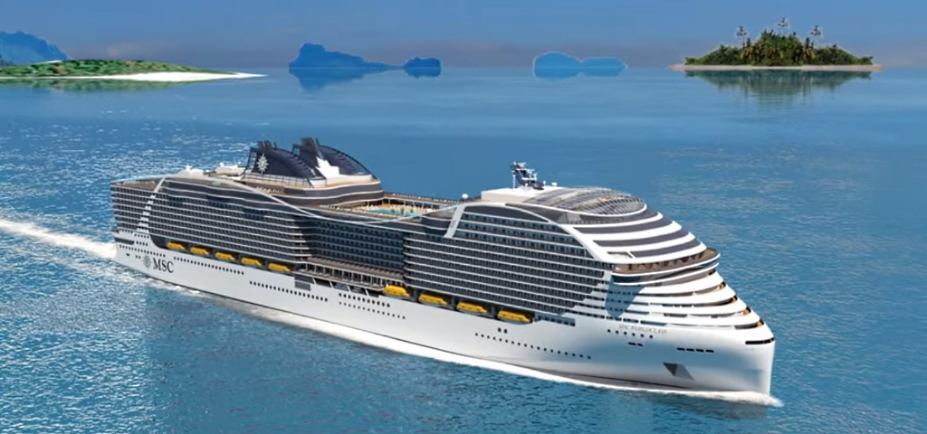 Msc World Class Navi Msc Crociere Ship