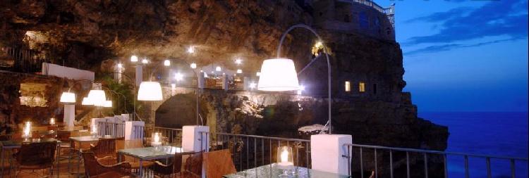 hotel ristorante grotta palazzere polignano a mare bari medinlife. Black Bedroom Furniture Sets. Home Design Ideas